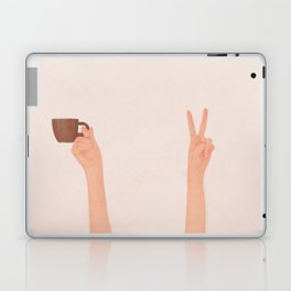 Good Peaceful Morning Laptop & iPad Skin