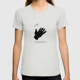 Stitches in Time: A Somewhat Motivational Malaphor T-shirt