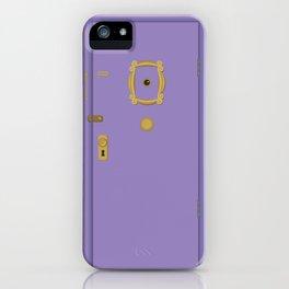 Purple Door - Friends Apartment iPhone Case