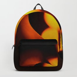 Beautiful Evening in Autumn - Heart Shape with Bokeh Light #decor #society6 #buyart Backpack