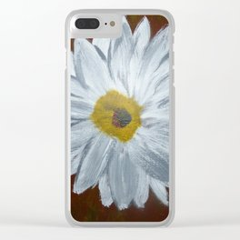 ArmyPecan Daisy Clear iPhone Case