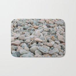 Stones at the beach - denmark Bath Mat