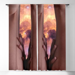 0025s-KCS The Gate of Heaven Creation Lies Between Her Thighs Blackout Curtain