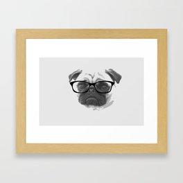 Pugster Framed Art Print
