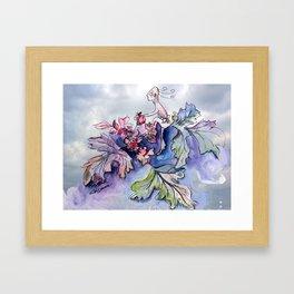 Jester B's Herbal Nutrition Framed Art Print