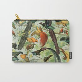 Birds of Paradise poster Carry-All Pouch