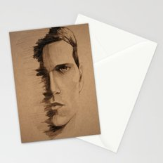 HALF FACE Stationery Cards