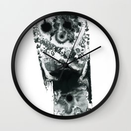 Polar Minimalism 2 Wall Clock