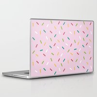 donut Laptop & iPad Skins featuring Donut by According to Panda
