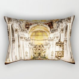 Cathedral Sicily, Italy Rectangular Pillow