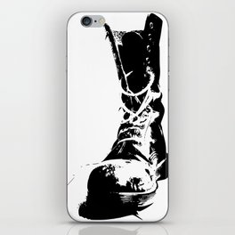 Punk High-Top Shoes iPhone Skin