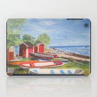 sweden iPad Cases featuring Ystad, Sweden by Bridget Kingsford