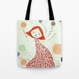 weaving dreams Tote Bag