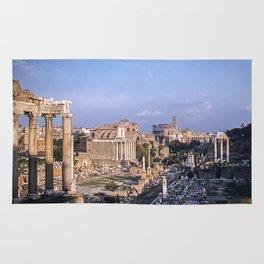 Roman Forum Ruins * Vintage Color Photo * 1950's * Kodachrome #rome  #italy Rug