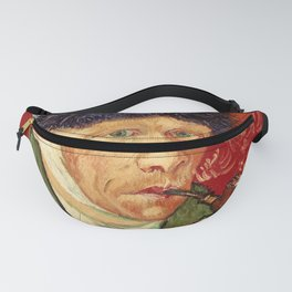 Vincent van Gogh Self-portrait with Bandaged Ear and Pipe Fanny Pack