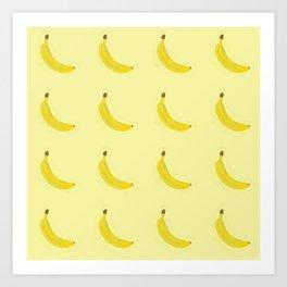 Bananas!!! Art Print