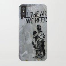 A Good Message iPhone X Slim Case