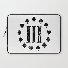 Three Percenter Aces Distressed Laptop Sleeve