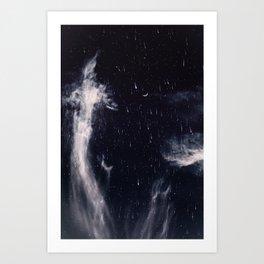 Falling stars II Art Print