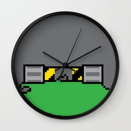 Teenage Mutant Ninja Pixels Wall Clock