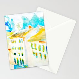 Apartment In Italy Stationery Cards