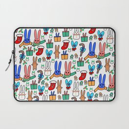 A Very Bunny Christmas Laptop Sleeve
