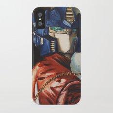 Optimus Prime With Sunflower Slim Case iPhone X
