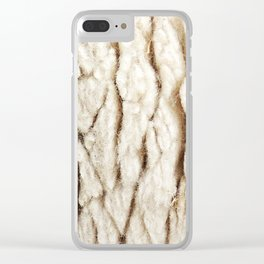 Sheep Wool Clear iPhone Case