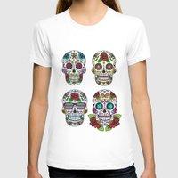 sugar skulls T-shirts featuring Sugar skulls by very giorgious