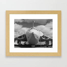Victor aircraft lusty lindy Framed Art Print