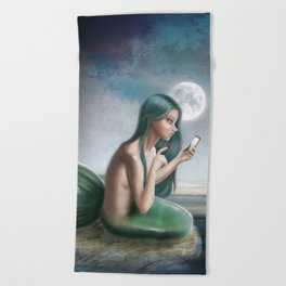 Hello? (Disconnected) Beach Towel