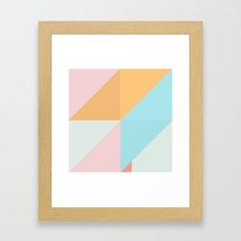 Geometric Pattern XVI Framed Art Print