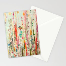 this strange feeling of liberty Stationery Cards