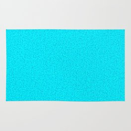 Cracked Glass - Turquoise Rug