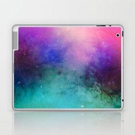 Mystical azure galaxy Laptop & iPad Skin