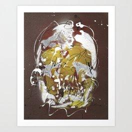 Skull #8 Art Print