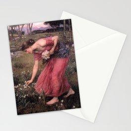 John William Waterhouse - Narcissus Stationery Cards