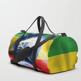 Ethiopia Flag Duffle Bag