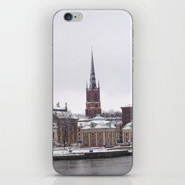 Stockholm Winter iPhone Skin