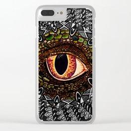 peek Clear iPhone Case