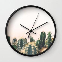 Desert Cactus 3 Wall Clock