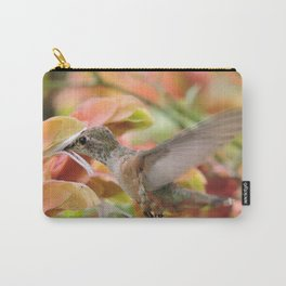 Little Ms. Hummingbird in for More Licks Carry-All Pouch