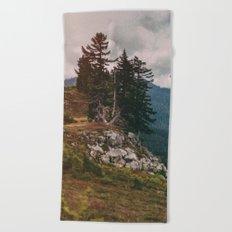 Northwest Forest Beach Towel