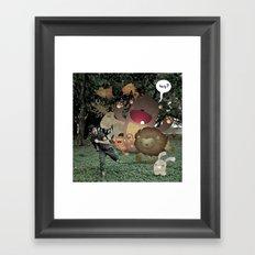 Zoophobia Framed Art Print
