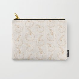 Cute and nice fruits and berry pattern with orange Carry-All Pouch