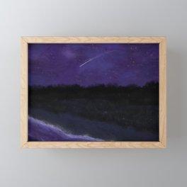 First Frost - After Sunset Framed Mini Art Print