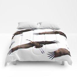Cranes in flight #decor #society6 Comforters