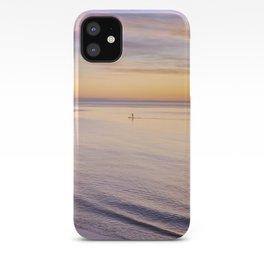 Sunset Paddle iPhone Case