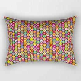 bugs 'n flowers Rectangular Pillow