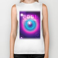2001 Biker Tanks featuring 2001 a Space Odyssey by Scar Design